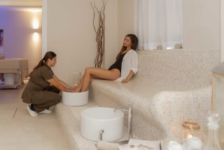 spa delfino blu foot bath