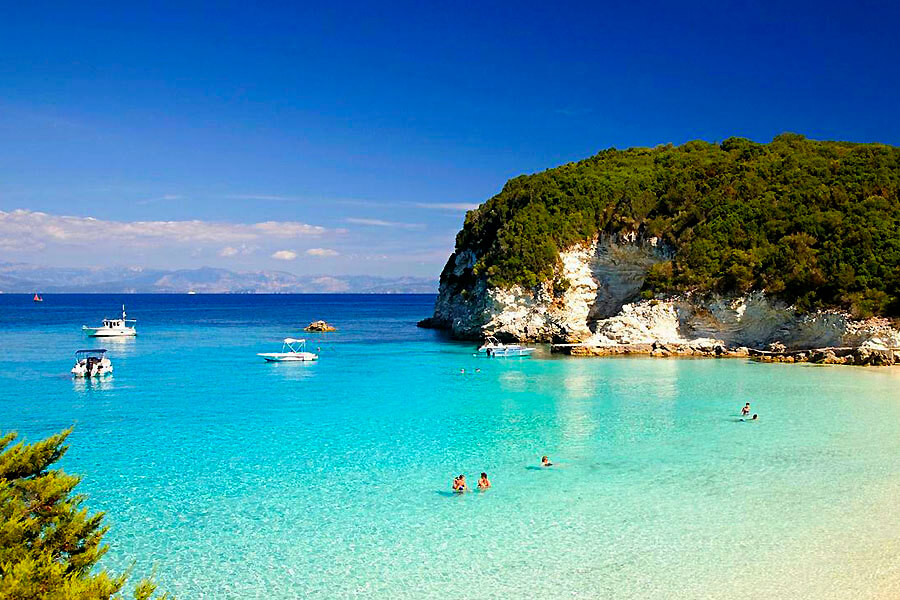 antipaxos island greece