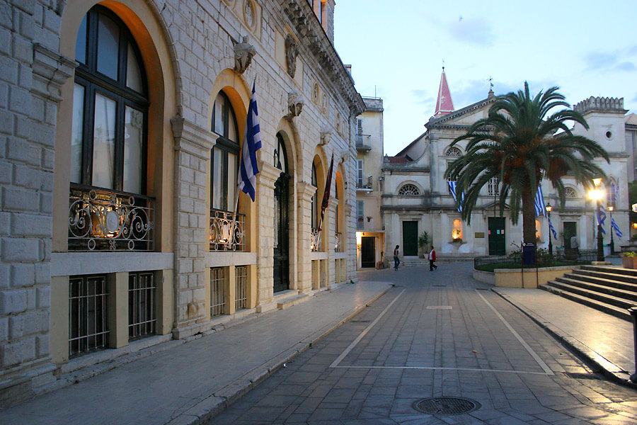 corfu center